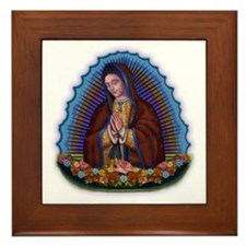 Lady of Guadalupe T3 Framed Tile