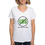 Too Much LDS Women's V-Neck T-Shirt