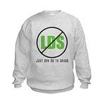 Too Much LDS Kids Sweatshirt