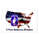 173d Airborne Brigade Postcards (Package of 8)