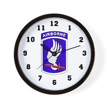 173d Airborne Brigade Wall Clock