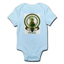 O'Keefe Clan Motto Infant Creeper