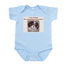 Sleep with Cavs Infant Creeper