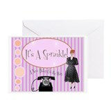 Baby Sprinkle Shower Invitati Greeting Cards (Pk o