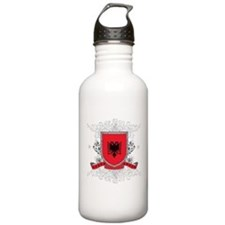 Albania Shield Water Bottle