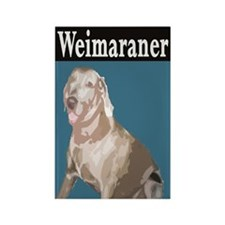 Cool Weimaraner tote Rectangle Magnet