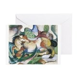 Spingendes Pferd Greeting Cards (Pk of 20)