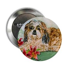 "Shitz Tzu: The Boss 2.25"" Button (10 pack)"
