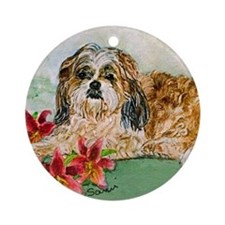 Shitz Tzu: The Boss Ornament (Round)