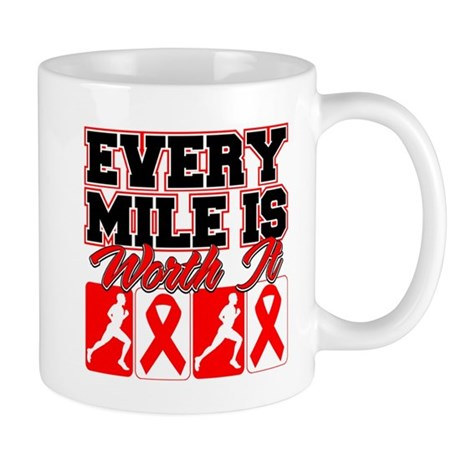Blood Cancer Every Mile Mens Mug