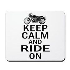 Bonneville - Keep Calm Mousepad