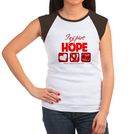 Blood Cancer Inspire Hope Women's Cap Sleeve T-Shi