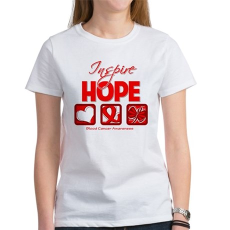 Blood Cancer Inspire Hope Women's T-Shirt