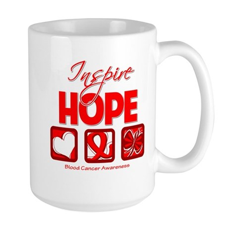 Blood Cancer Inspire Hope Large Mug