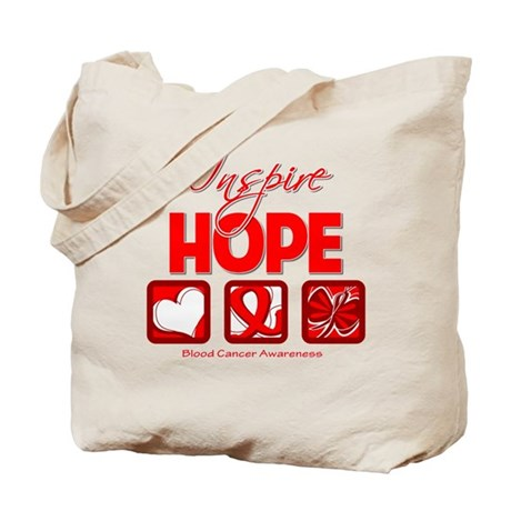 Blood Cancer Inspire Hope Tote Bag
