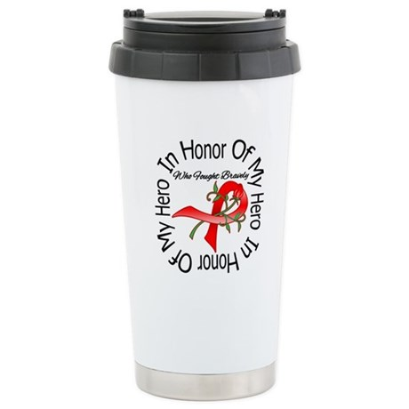 Blood Cancer In Honor Hero Ceramic Travel Mug