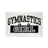Gymnastics Girl Rectangle Magnet