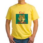 The Cherokee Wolf Yellow T-Shirt