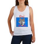 The Cherokee Wolf Women's Tank Top