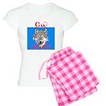 The Cherokee Wolf Women's Light Pajamas