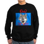 The Cherokee Wolf Sweatshirt (dark)