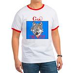 The Cherokee Wolf Ringer T
