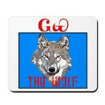 The Cherokee Wolf Mousepad