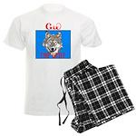 The Cherokee Wolf Men's Light Pajamas