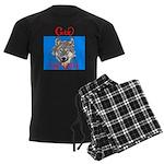 The Cherokee Wolf Men's Dark Pajamas