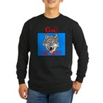 The Cherokee Wolf Long Sleeve Dark T-Shirt