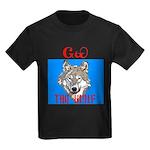 The Cherokee Wolf Kids Dark T-Shirt