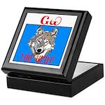 The Cherokee Wolf Keepsake Box