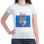 The Cherokee Wolf Jr. Ringer T-Shirt