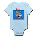 The Cherokee Wolf Infant Bodysuit