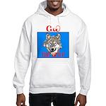 The Cherokee Wolf Hooded Sweatshirt