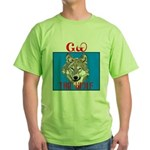 The Cherokee Wolf Green T-Shirt