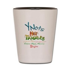 YNots Hot Tamales Shot Glass