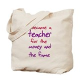 Funny teacher shirts humoring Tote Bag
