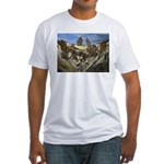 Drago valley  Fitted T-Shirt
