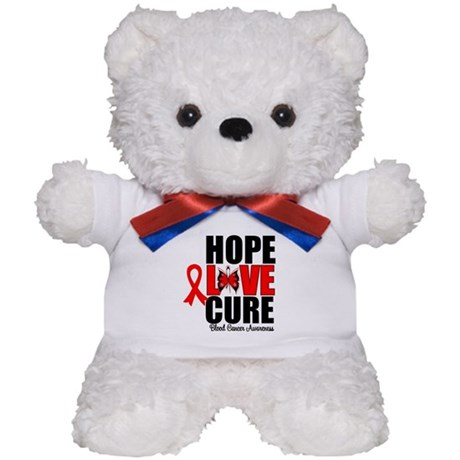 Blood Cancer HopeLoveCure Teddy Bear