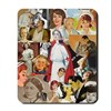 Vintage Nurse Collage Mousepad