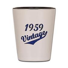 Cute Funny birthday 1959 Shot Glass