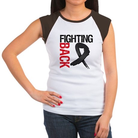 Fighting Back Melanoma Women's Cap Sleeve T-Shirt