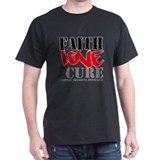 Faith Love Cure Melanoma T-Shirt