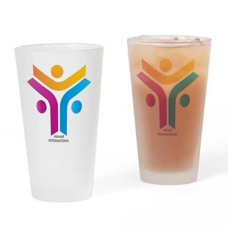 Blood Cancer Retro Fighter Shot Glass