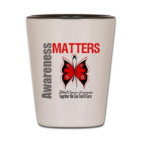 Blood Cancer AwarenessMatters Shot Glass