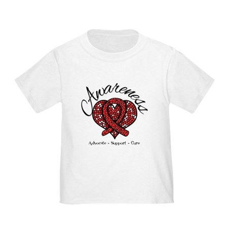 Blood Cancer Heart Toddler T-Shirt