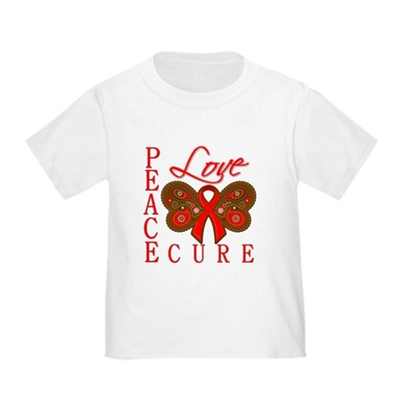 Blood Cancer PeaceLoveCure Toddler T-Shirt