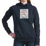 Born To Dance (redstone) Women's Raglan Hoodie