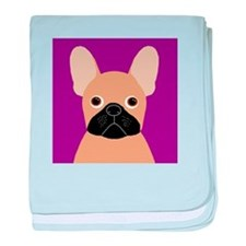 Frenchy (Masked Fawn) baby blanket